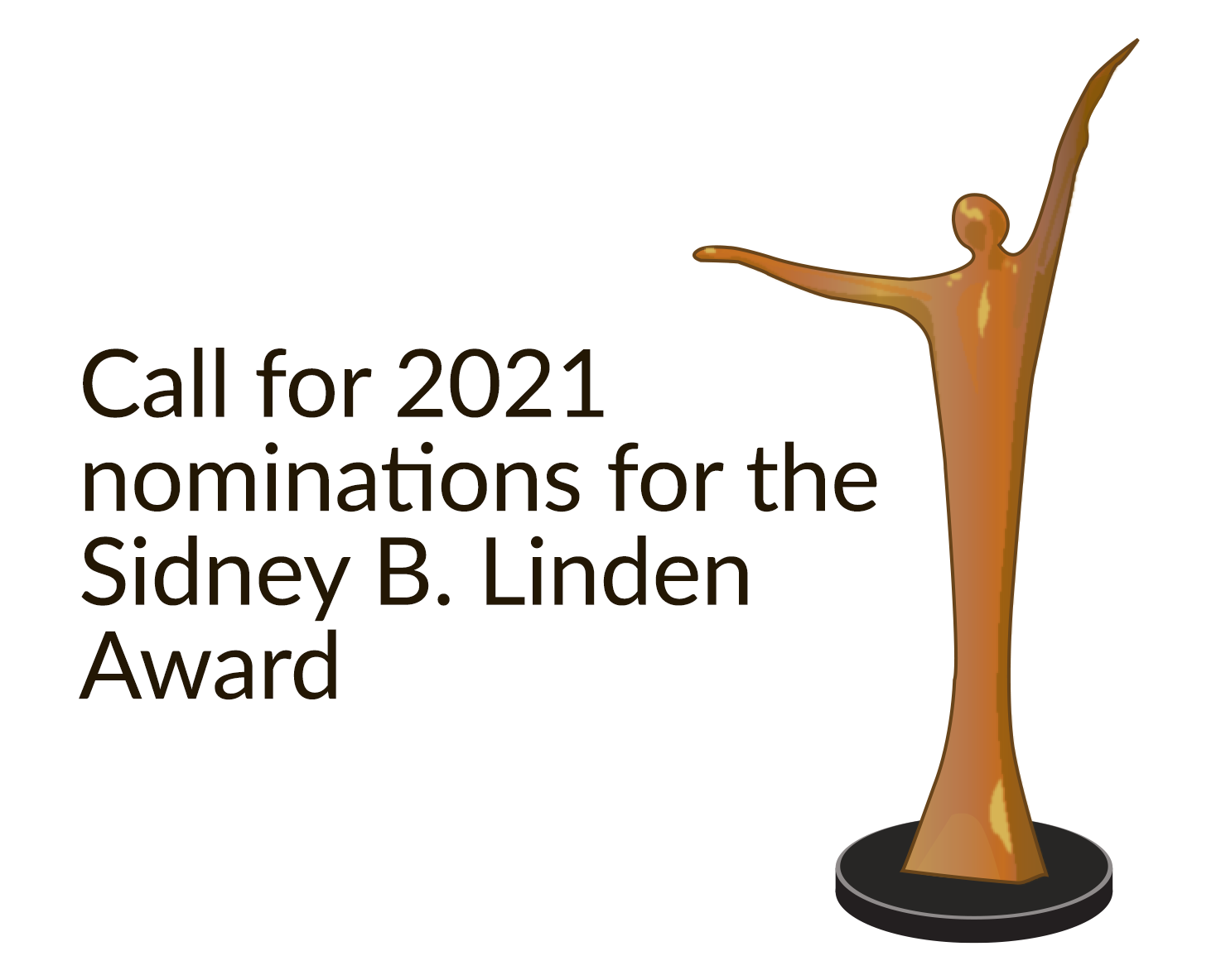 Call for 2021 nominations for the Sidney b. Linden Award
