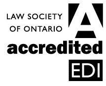 Logo for Law Society of Ontario accredtied EDI