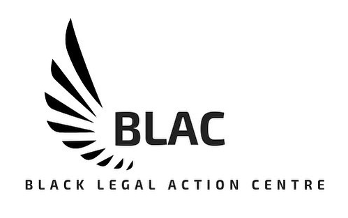 Logo for Black Legal Action Centre